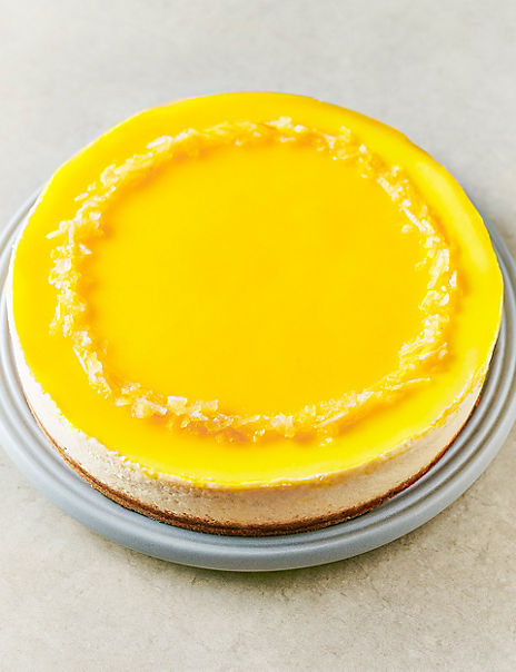 Sicilian Lemon & Ricotta Cheesecake