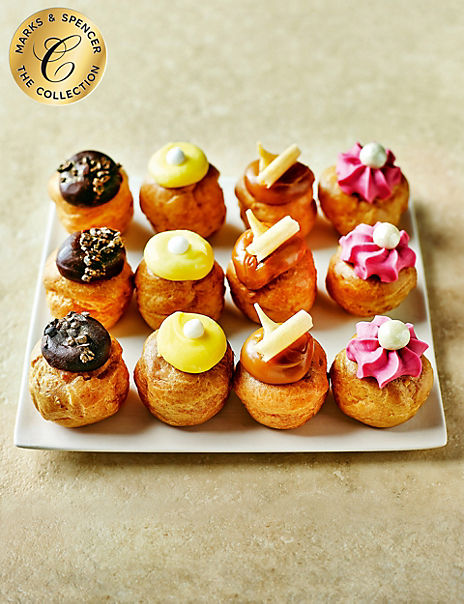 The Collection Afternoon Tea Profiteroles Selection - (24 Pieces)
