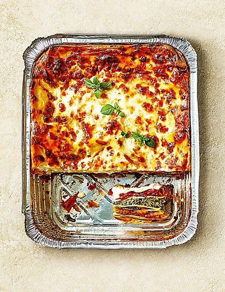 From The Deli Hand-Prepared Vegetable Lasagne (Serves 6)