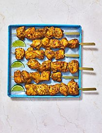 Shawarma Style Chicken Breast Kebab