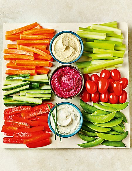 Luxury Crudités Selection (Serves 6-8)