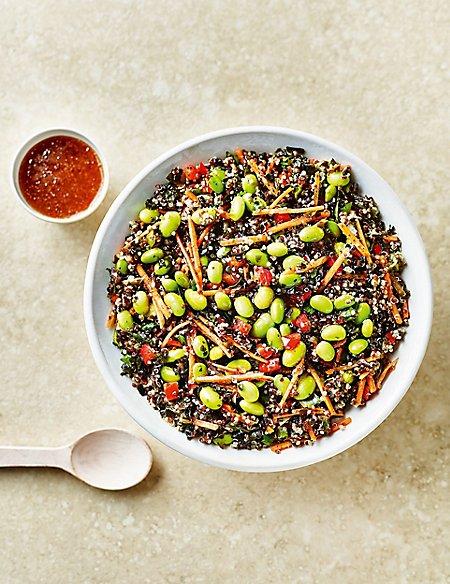 Quinoa & Edamame Salad - Last collection date 22ndApril (Serves 6-8)