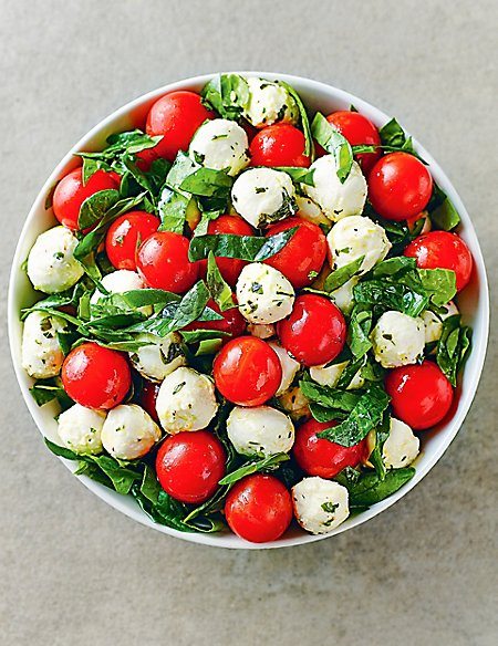 Tomato & Mozzarella Salad (Serves 6-8)