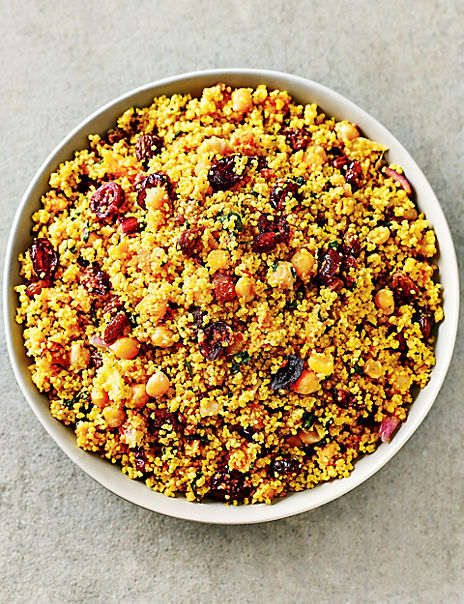 Moroccan-Style Fruity Couscous Salad (Serves 6-8)