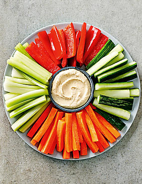 Crudité Selection (Serves 6-8)