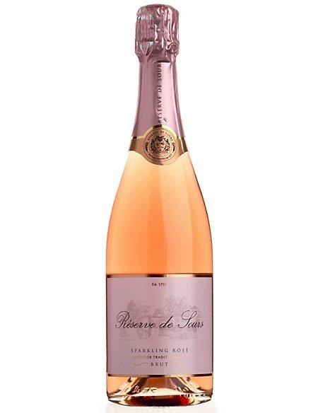 Réserve de Sours Sparkling Rosé NV - Case of 6