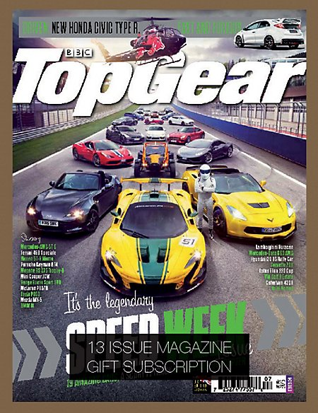 Top Gear - Magazine Gift Subscription