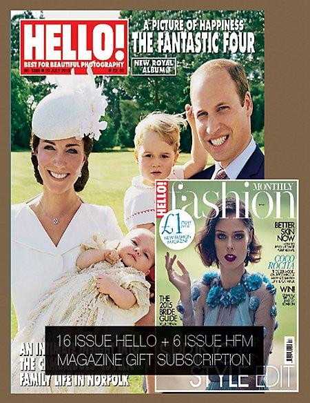 Hello! - Magazine Gift Subscription
