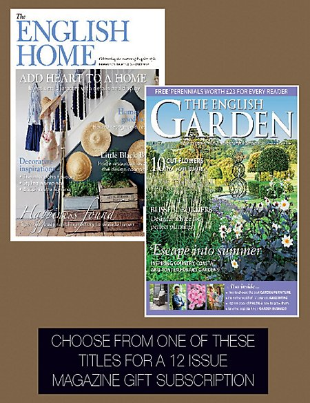 English Home / English Garden Pack - Magazine Gift Subscription