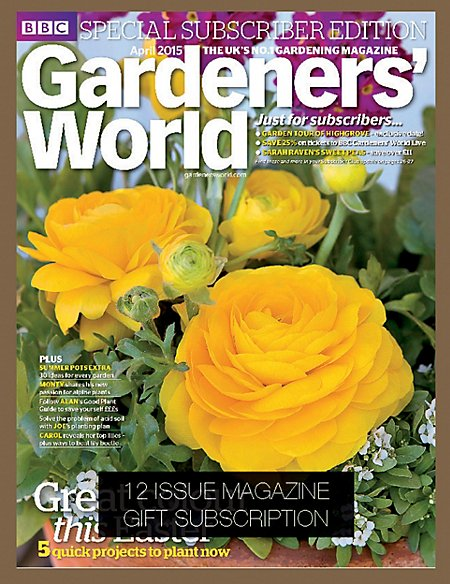 Gardeners' World - Magazine Gift Subscription