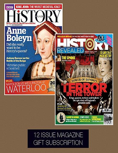 History - Magazine Gift Subscription