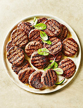 Aberdeen Angus Steak Burgers (18 Pieces)