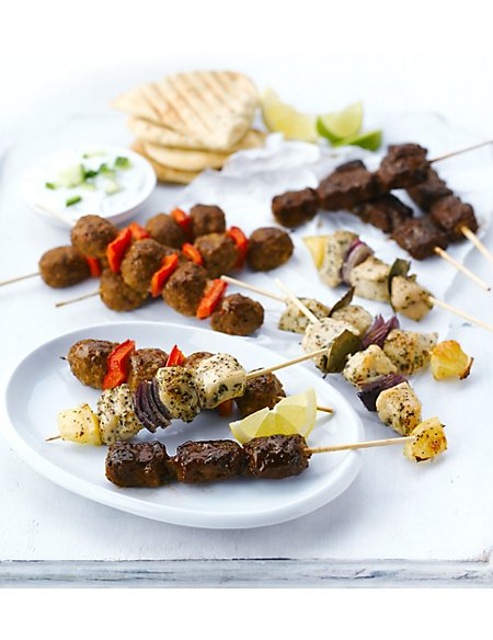 12 Kebab Selection