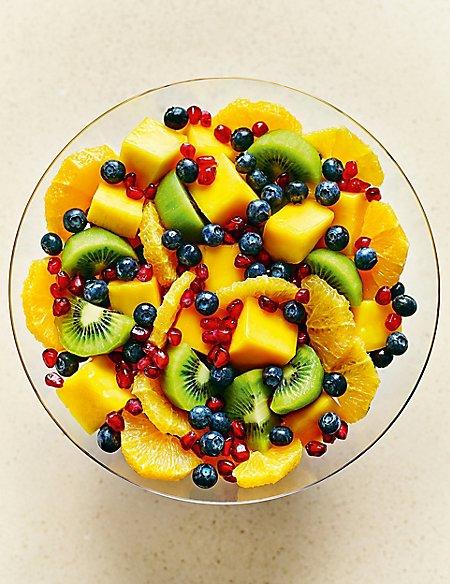 Pomegranate, Blueberry, Kiwi, Mango & Orange Salad Bowl (Serves 6-8) - Last collection date 22ndApril