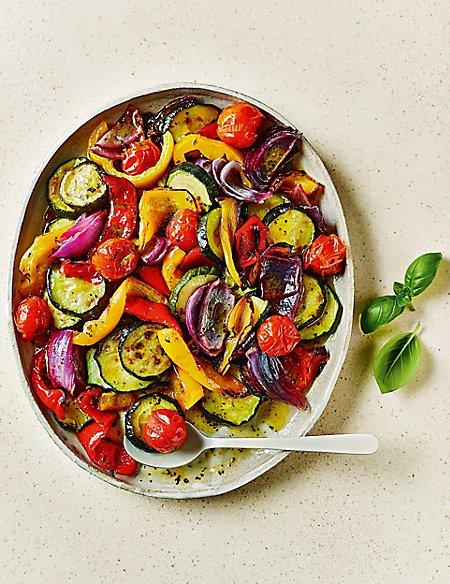 Mediterranean Roasting Vegetables (Serves 6-8)
