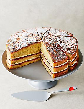 Triple-Layer Victoria Sandwich (Serves 14) - 10% of the sale price of this product will be donated to Macmillan Cancer
