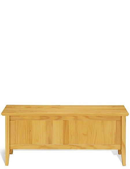 Hastings Light Natural Blanket Box