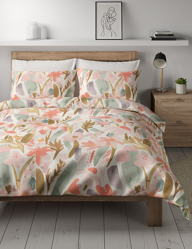 Madeline Floral Cotton Bedding Set