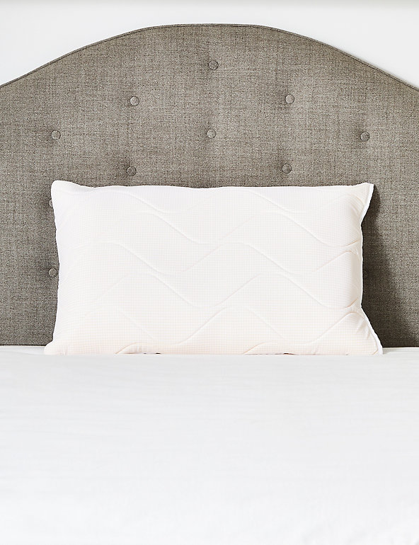 Medium Memory Foam Pillow | Outlast | M&S