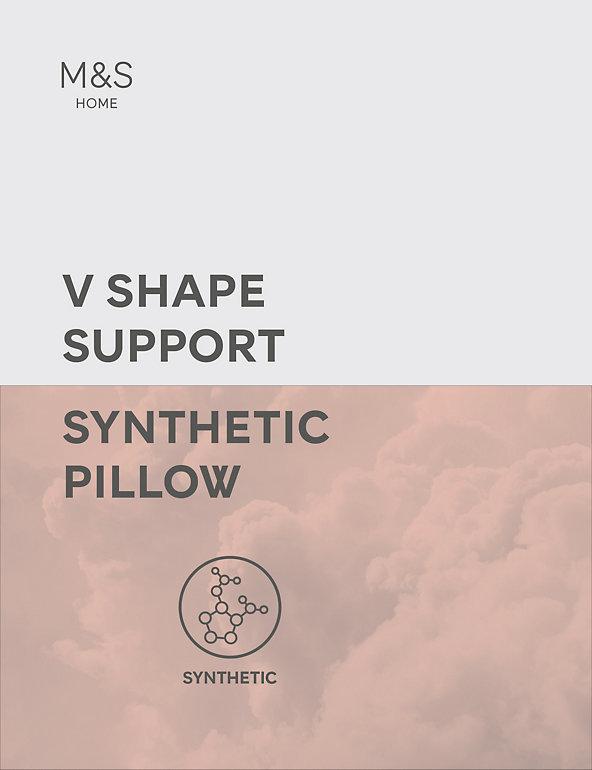 Medium V Shaped Pillow with Pillowcase