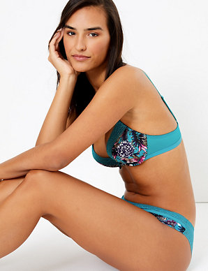 Meghan Lace Trim Plunge Bra | M&S Collection | M&S