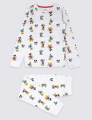 7d40fad4 Mickey Mouse™ Pyjamas with Stretch (1-16 Years) | M&S