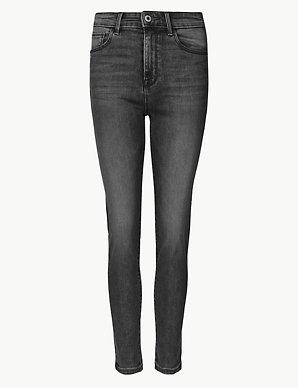 732ba4ac22d0 Mid Rise Cigarette Jeans | M&S Collection | M&S
