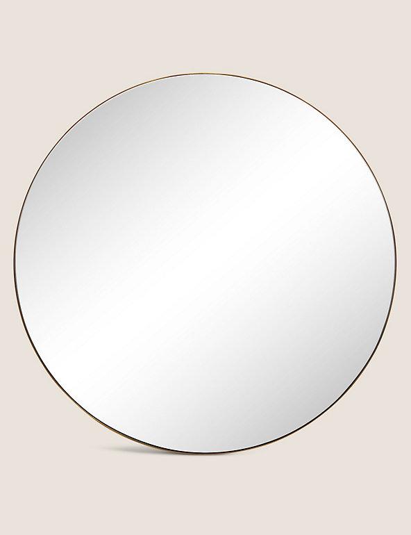 Milan Large Round Mirror M S, Simple Round Mirror