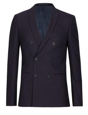 bc0de0a709 Modern Slim 2 Button Hopsack Jacket | Limited Edition | M&S