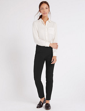 ccb3788f2559 Modern Slim Leg Trousers | M&S Collection | M&S