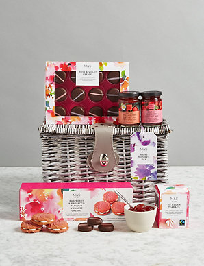 Mother's Day Teatime Treats Gift Basket - Save £5 for a Limited Time Only | M&S
