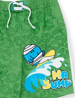 1df3c3c112 Mr Bump Magic Print Swim Shorts   Indigo Collection   M&S