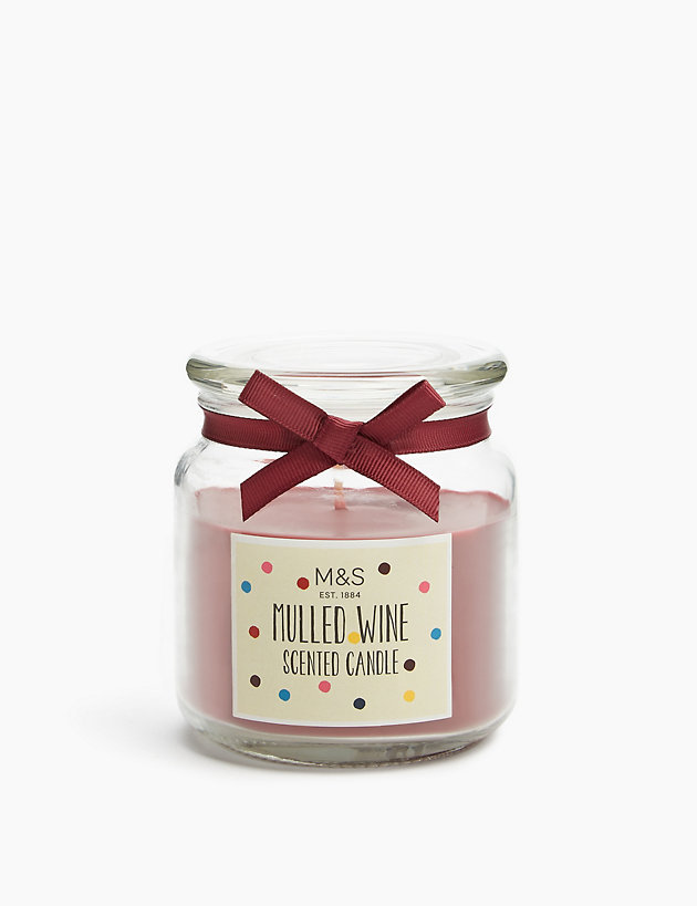 Mulled Wine Jar Candle | M&S