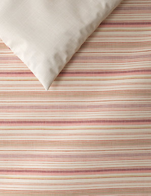 af69bbee246 Multi Stripe Relaxed Bedding Set | M&S