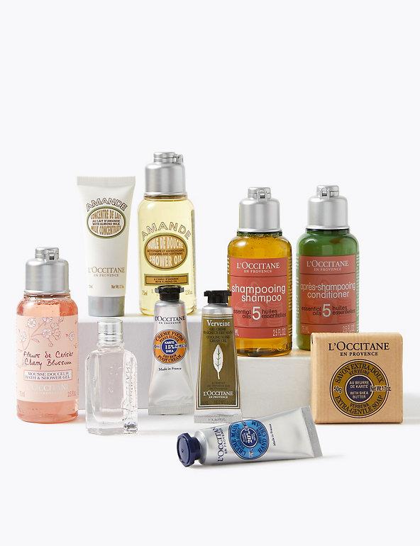 L' Occitane Hand Cream & Shower Oil Bundle, Health & Beauty
