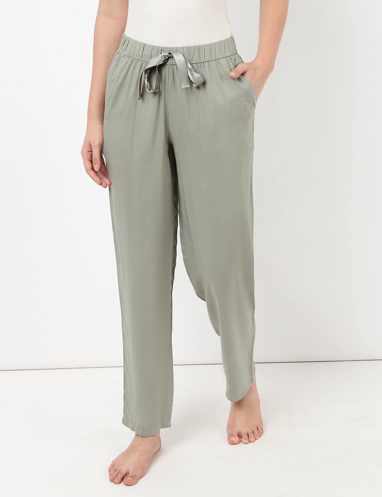 M&S Tapered Leg Solid Pyjama