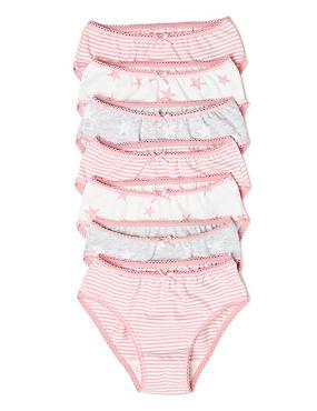 M/&s taille 24 fleuri Flexfit Taille Basse Shorts Culotte Pantalon Culotte Slips