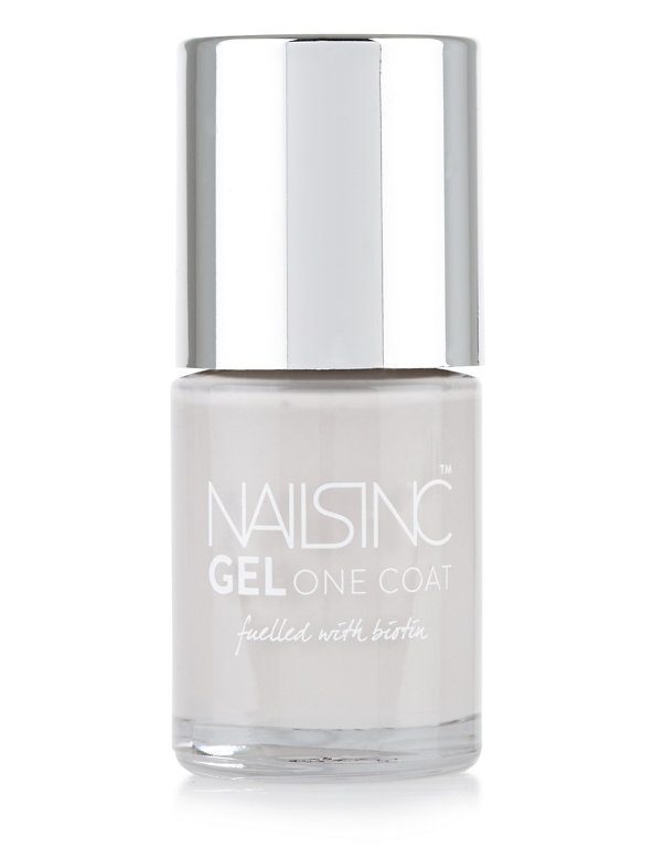 Details about NEW Nails Inc Gel One Coat Nail Lacquer Polish