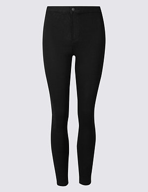 a2f292ea229f1 PETITE High Waist Super Skinny Jeggings | M&S Collection | M&S
