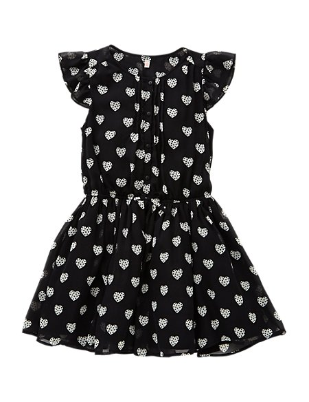 2 Piece Heart Print Tunic & Leggings Outfit (5-14 Years)