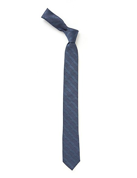 Checked Tie (5-14 Years)