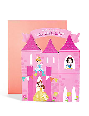Pop-Up Disney Princess™ Castle Scene Birthday Card