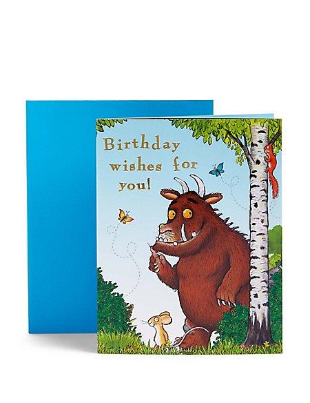 The Gruffalo™ Sticker Birthday Card