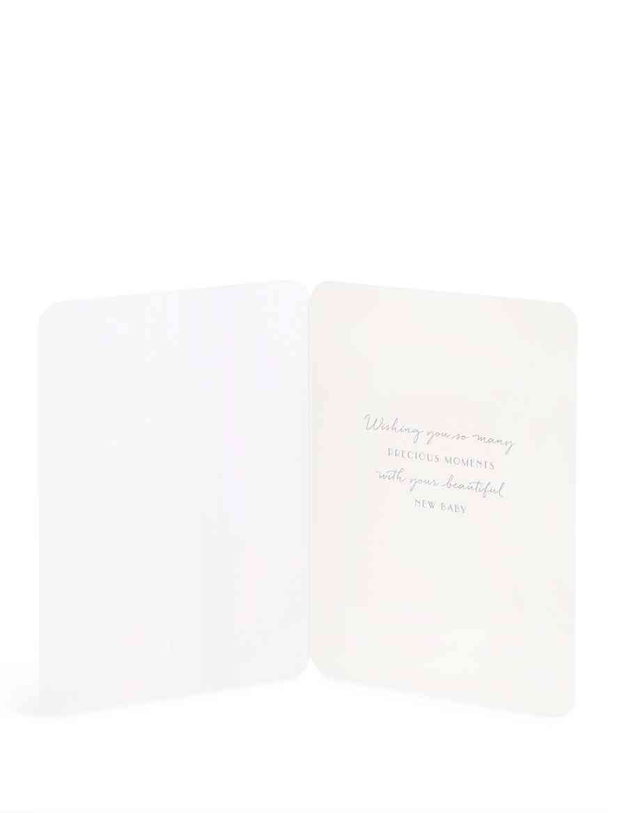new arrival baby girl card m s