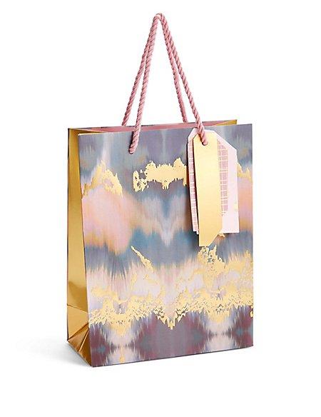 Pink & Gold Medium Gift Bag