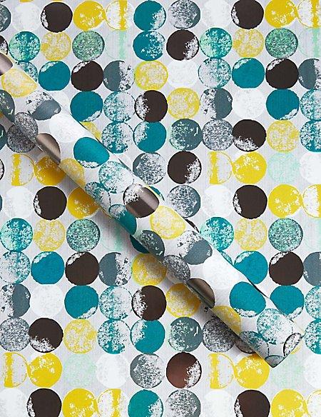 Large Spots Roll Wrap