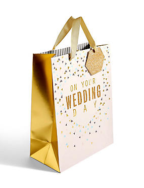 On Your Wedding Day Large Gift Bag