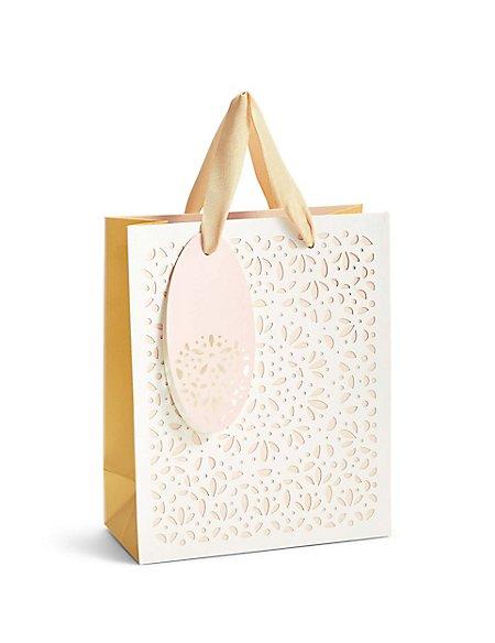Laser Cut Medium Gift Bag