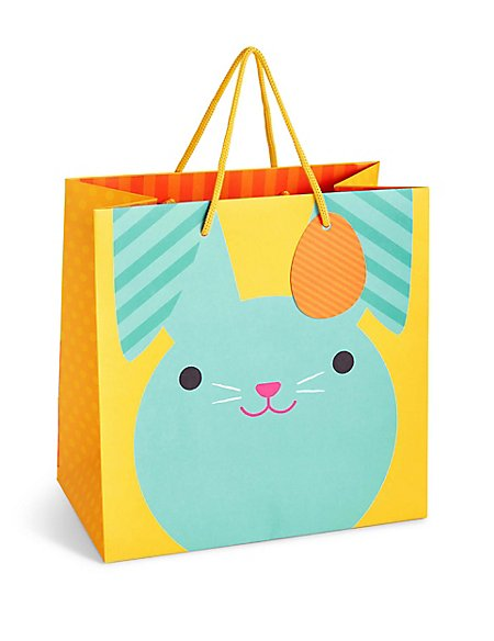 Chick rabbit large easter gift bag ms chick rabbit large easter gift bag negle Choice Image