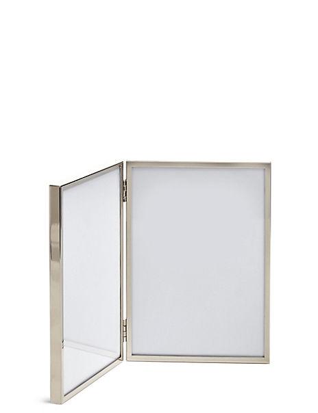 2 Aperture Metal Photo Frame 13 x 18cm (5 x 7 inch)